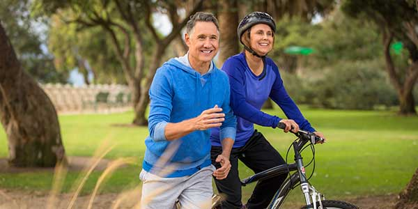 Bewegung während der Andropause: Eine Routine im Alter