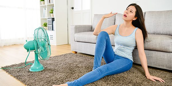 Starke Hitzewallungen – ein höheres Risiko für obstruktive Schlafapnoe