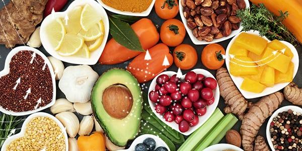 Antioxidantien haben Anti-Aging-Eigenschaften