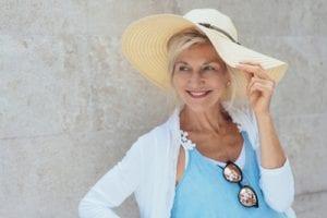 UV-Schutz für alternde Haut