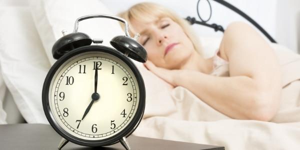 Zeitumstellung und wechseljahrbedingte Schlafstörungen 1