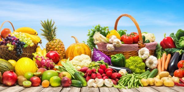 Linderung von Wechseljahrsbeschwerden durch Obst und Gemüse